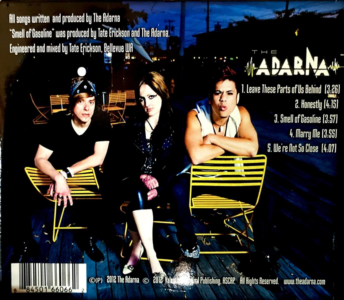 The Adarna EP (self-titled) 2012