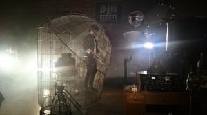 William in the Faraday cage