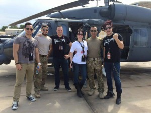 013 - Getting to meet the flight Line.Party! - Djibouti