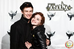 Lindsay and her date at The Adarna's CD Release Show 2012