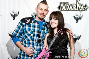 Tyler and Andreka at The Adarna's CD Release Show 2012