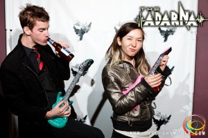 Josh Kirkwood and Anna atThe Adarna's CD Release Show 2012