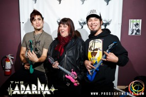 Lorraine Hoffman and Jason Austin at The Adarna's CD Release Show 2012