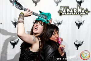 Josephine and Andreka at The Adarna's CD Release Show 2012