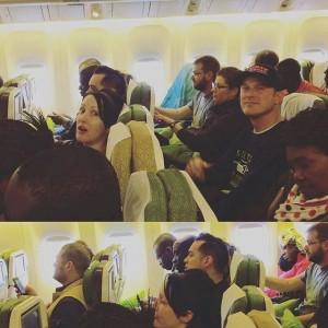 004 Loooong flight :D