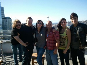 003 - Roof top of KISW Studios