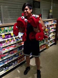 008 - Will and his lobsters