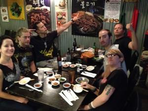 088 - The Adarna with Josh, Jen, and Joe at the Honeypig Korean BBQ in Arlington VA