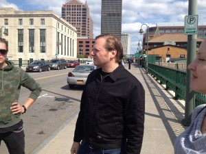 134 - Getting a tour from our Rochester native