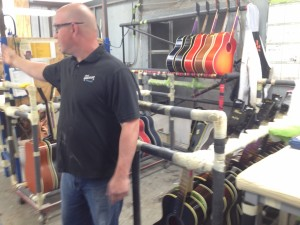 290 - Gibson Acoustic Factory Tour - Bozeman MT