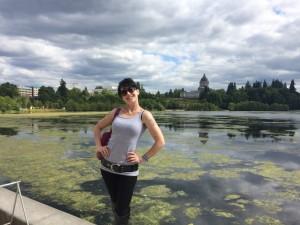 040 - Andreka posing before show at LakeFair in Olympia, WA
