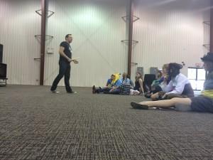 055  - Murdock teaching his drum clinic -  Saikoucon 2016