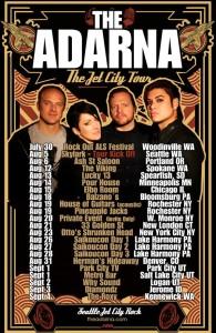 001 - Jet City Tour - The Adarna Poster