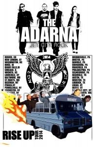 001 - RiseUp Tour-Poster