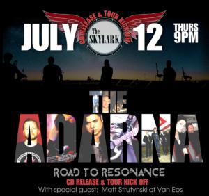 201 - Skylark Tour Poster & CD Release Show
