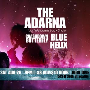 201 - The Adarna Welcome Back Show at High Dive guests - Blue Helix-Crashdown Butterfly