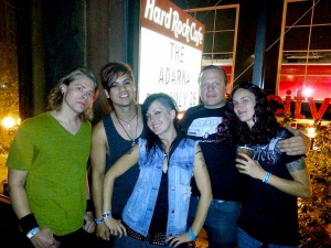 004 - The Adarna headlining at Hard Rock Cafe Seattle 07-2013