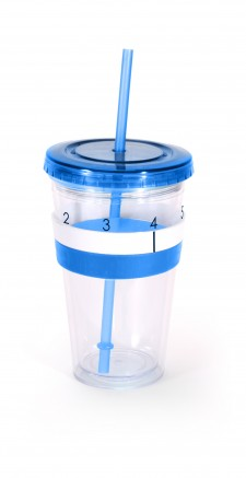 AQUATALLYcup blue with black