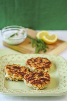 Salmon Dill Cakes_Dizzy Busy Hungry