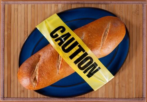 gluten free warning