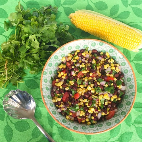 Black Bean Salad Topol