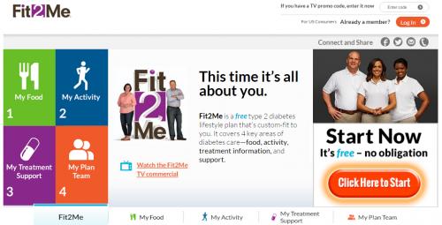 fit2me homepage