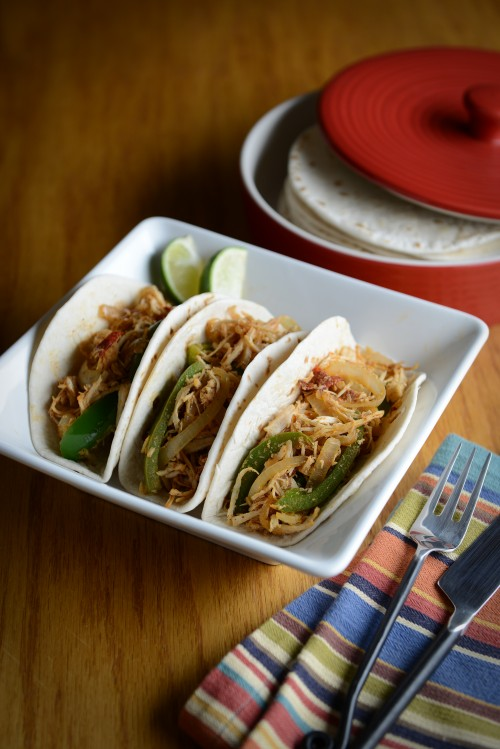Chipotle Chiken Tacos_The Newlywed Cookbook
