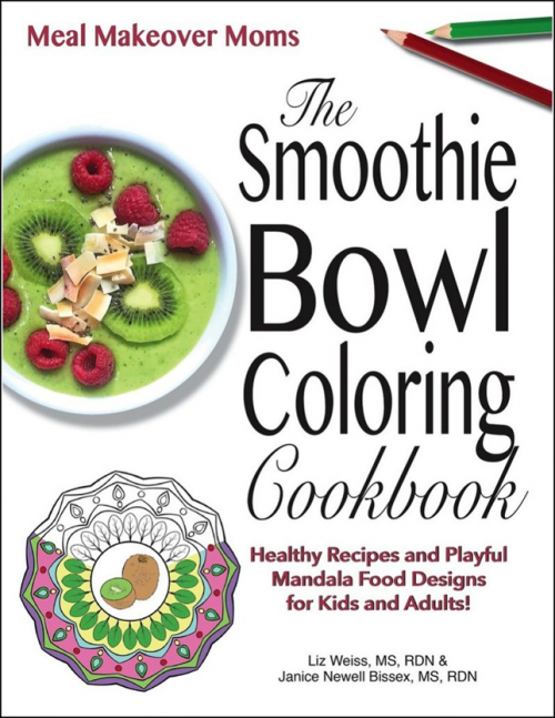 Smoothie Bowl Coloring book COVER