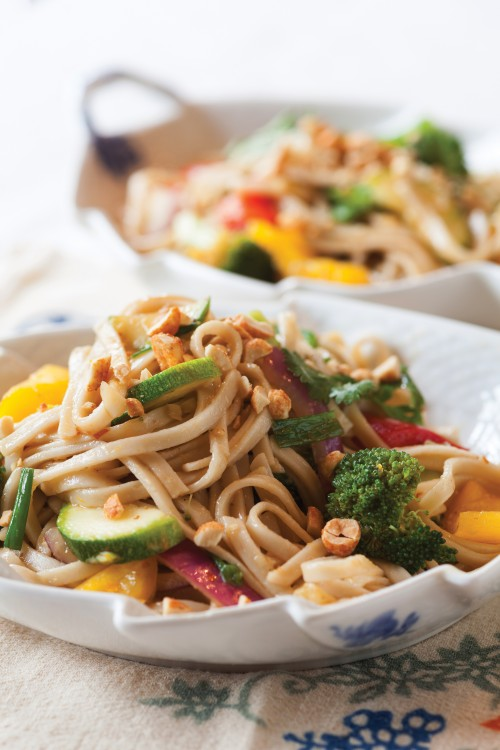 eat right for your sight.spicy udon noodles