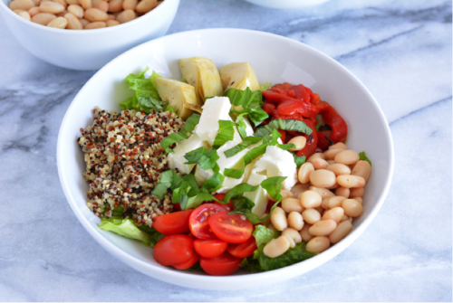 bruschetta-quinoa-bowl
