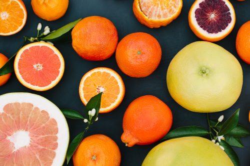 Header citrus photo