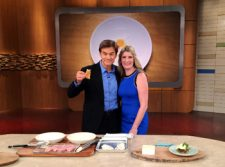 Dr. Oz and Toby Amidor