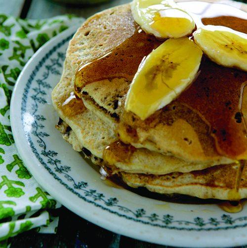POST 6_Whole Grain Banana Chocolate Chip Pancakes