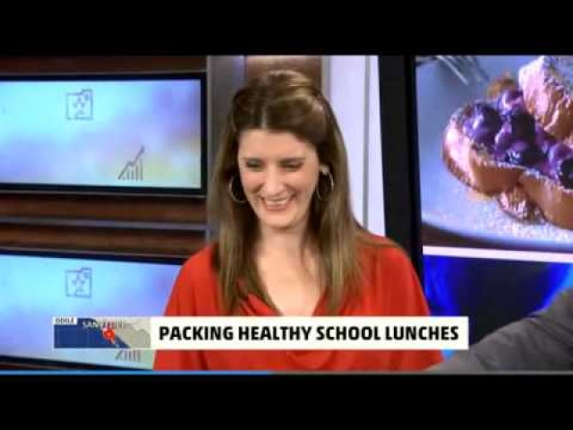 Packing the Perfect Lunch Box, AMHQ with Sam Champion