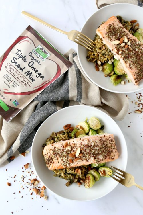 Celebrate Heart Health Month with My Heart Healthy Salmon Bowl