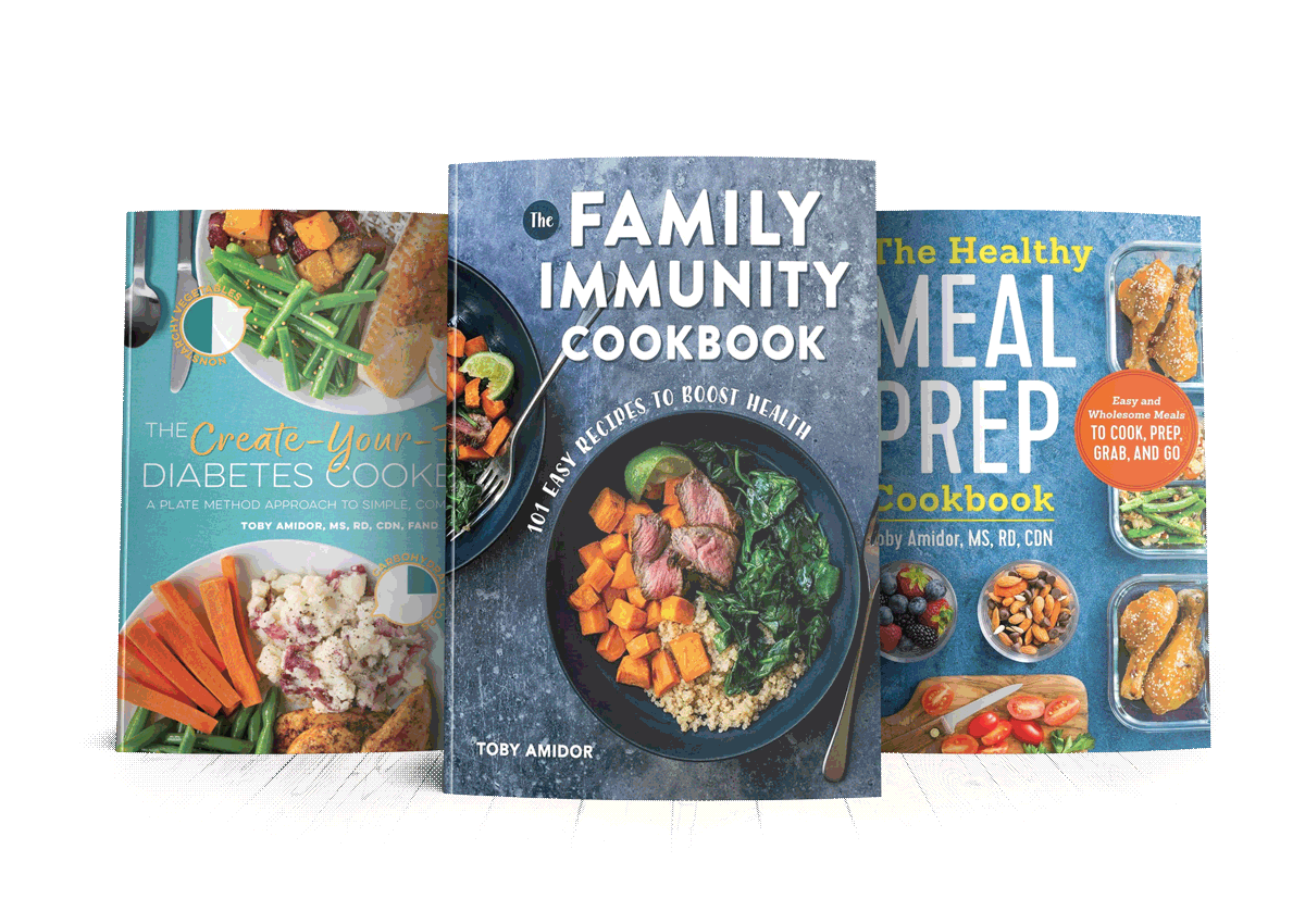 Toby Amidor Nutrition Books