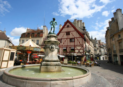 The Charming Medieval City of Dijon, Capital of Côte-d'Or