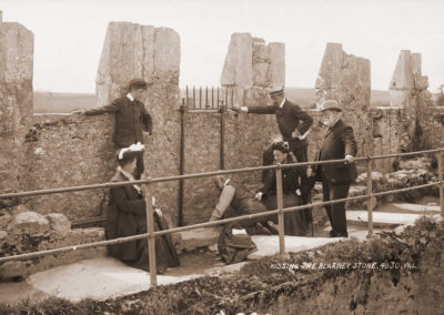 A Centuries-long Tradition: Kissing the Fabled Blarney  Stone