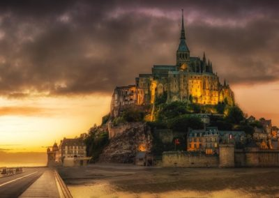 The Dreamscape that is Mont St Michel, Normandy