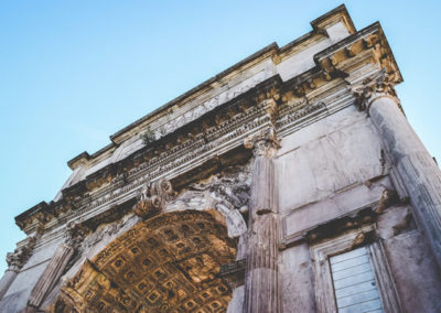 Arch at the Roman Forum