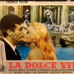 Trevi Fountain site of La Dolce Vita with Anita Ekberg and Marcello Mastroianni