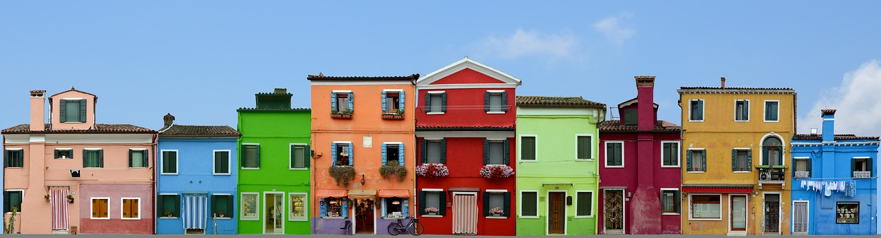 Burano, one of Venice's many islands