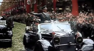 Hitler mobile rally