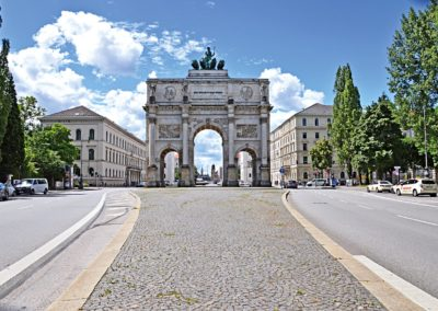 Siegestor Gate, Munich