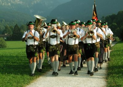Local Lederhosen Band in Bavaria