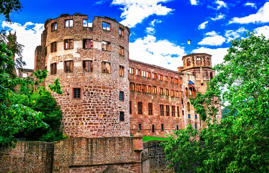 Magnificent Castle Heidelberg