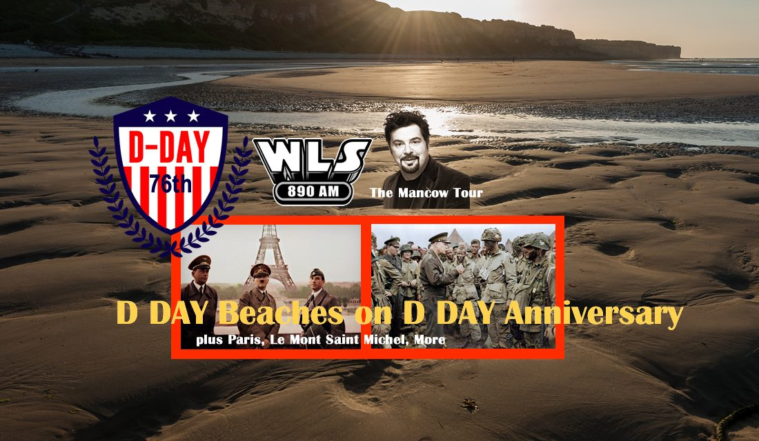 D DAY BEACHES ON D DAY ANNIVERSARY / PARIS / MONT SAINT-MICHEL / BATTLE OF THE BULGE / THE NAZI SURRENDER AT REIMS / CHAMPAGNE COUNTRY / BELGIUM / LUXEMBOURG / OPTIONAL WEEK IN PROVENCE