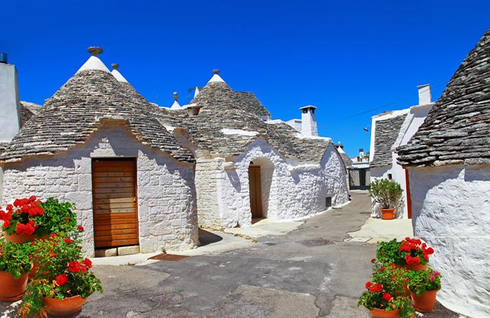 Alberobellos famous trulli houses