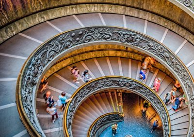 Spiral Staircase of the Vatican Museums