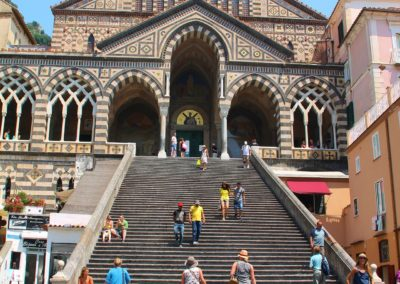 Stairs to the Amalfi Cathedra